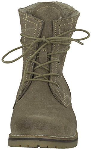 Taupe 26243 Chukka Boots Damen Tamaris IHq8wx5n