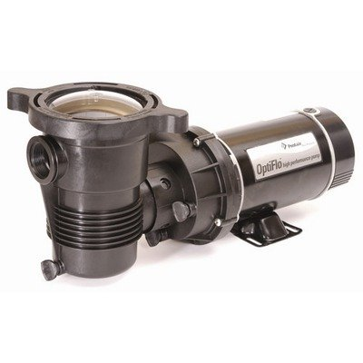 Pentair 347988 OptiFlo Horizontal Discharge Aboveground Pool Pump with Cord and Twist Lock Plug, 1 HP by Pentair