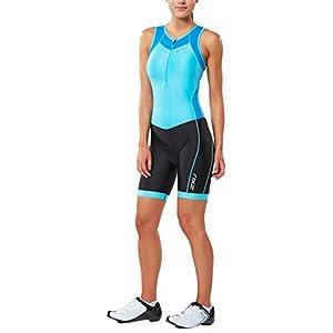 2XU Women's X Vent Front Zip Trisuit,