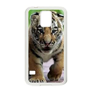 Tiger ZLB577127 Customized Phone Case for SamSung Galaxy S5 I9600, SamSung Galaxy S5 I9600 Case