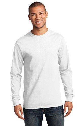 Port & Company Men's Tall Long Sleeve Essential T Shirt XLT ()