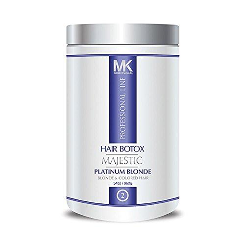 MK HAIR BOTOX PLATINUM BLONDE 34OZ / 960g - USA by MK Professional
