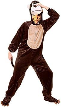 Disfraz Mono Adulto para Carnaval (Talla L) (+ Tallas) Animales ...