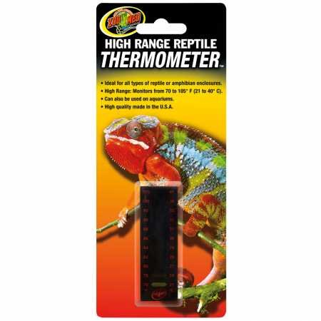 - Zoo Med High Range Reptile Thermometer