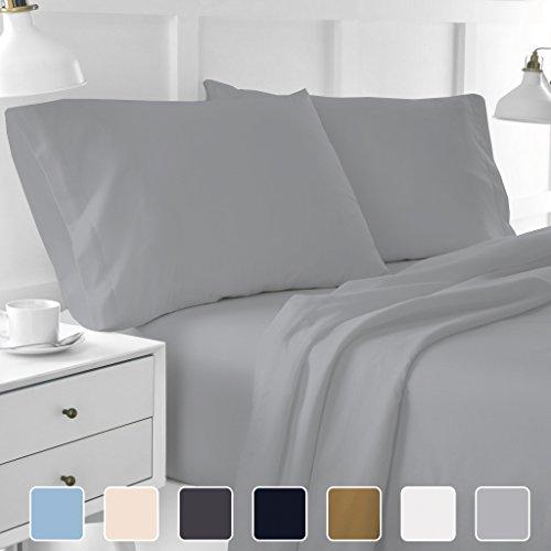 - Cottington Lane 400 Thread Count 100% Long Staple Cotton Sheetsets, 4 PCs, Queen Sheets, Upto 15