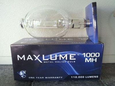 Metal Halide Bulb BT-56 Mogul E39, 80000 Lumens, 65 CRI, 1000W