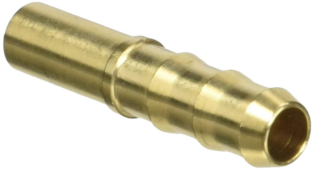 9 mm Barbed End Brass Pack of 20 for 7 mm Hose ID 8.00 mm Straight Tube OD Parker Legris 0122 08 07-pk20 Legris Brass Hose Fitting for Rubber Hose Adapter