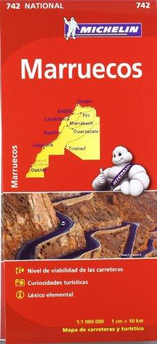 Mapa National Marruecos (Mapas National Michelin) por VV.AA.