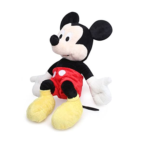 D&D Mickey Mouse Soft Toys (Approximately 60 cm, Multicolour)