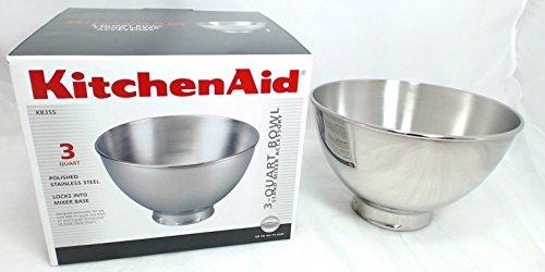 New KitchenAid Mixer 3 QT SS Bowl for Pivot Head KB3SS - Kitchenaid Mixer 3 Qt
