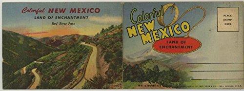 New Mexico - Miniature 1940 Souvenir Postcard Mailing Folder #D-10004