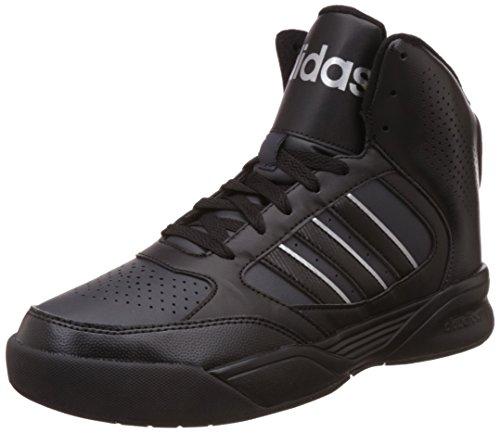 Adidas Night Cloud Foam Ball Leather Mens Trainers Schwarz (Core Black/Night Grey)