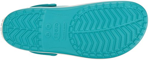 Crocs Crocband, Mixte Adulte Sabots, Bleu (Turquoise/Oyster), 48-49 EU
