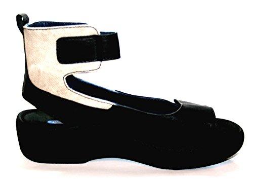 Wolky - Sandalias de vestir de Piel para mujer Negro negro 36 Schwarz (col. 300 Black)