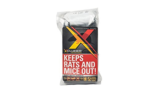 Xcluder Rodent Control Steel Wool Fill Fabric DIY Kit, Large -