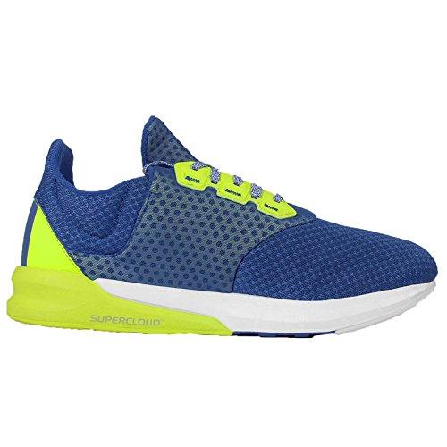 adidas Herren Falcon Elite 5 M Laufschuhe Mehrfarbig (Blue / Green / White (Blue/SELISO/FTWBLA))
