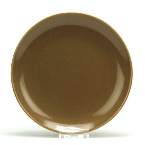 Casual, Brown by Iroquois, China Dinner Plate