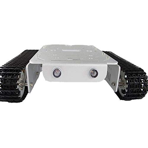 T200 Aluminum Alloy Metal Tank Track Chassis - Arduino Compatible SCM & DIY Kits Smart Robot & Solar Panel - (B) - 1 x Chassis by Unknown (Image #3)