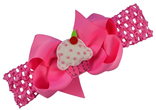 Pink Felt Cake Headband - 8