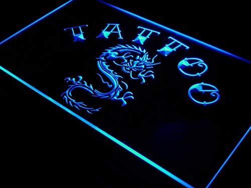 ADVPRO i700-b Tattoo Chinese Dragon Ink Open Neon Light Sign (Neon Dragon)