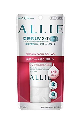 Kanebo ALLIE Extra UV Facial Gel Sunscreen - SPF50+ PA++++ 60g 2oz   NEW 2018