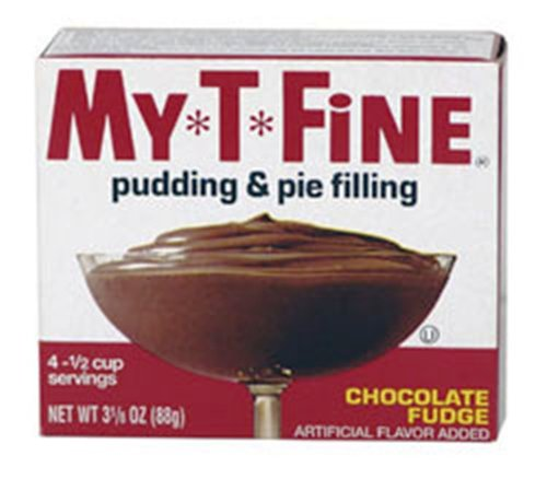 My T Fine Chocolate Fudge Pudding, 3.125-Ounce (Pack of 12)