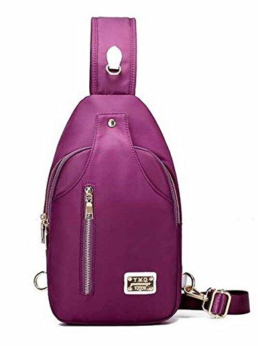 Women Purple Casual Allhqfashion Satchelstyle Shoulder Cross Fashion Handbags Fbubbd180725 Bags 6ft81qwt