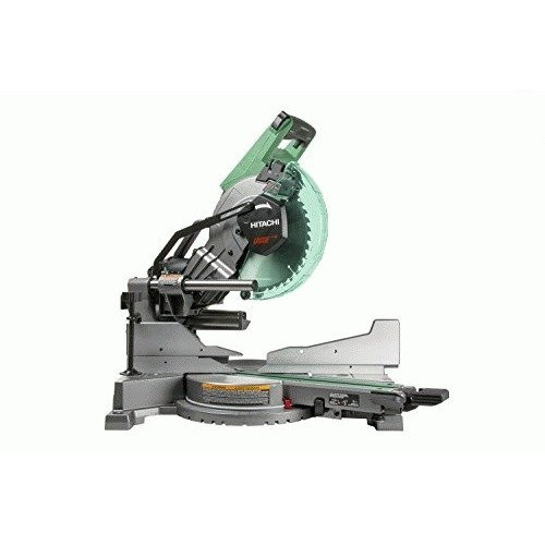 Hitachi C10FSHC 10 inch Sliding Compound Dual Bevel Miter Saw with Laser