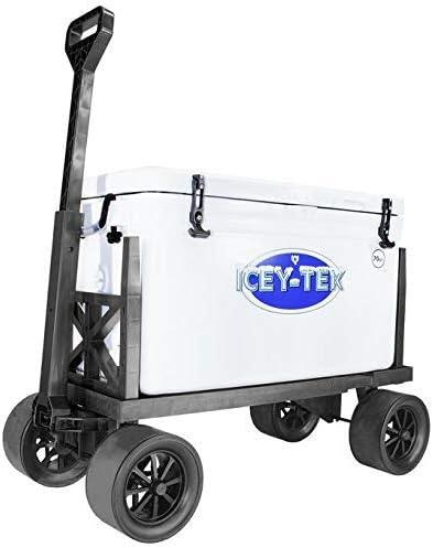 Dolly-Flat 300 lb Capacity No Flat Wheels Pull Cart Mighty Max Cart Multi Purpose Utility Dolly Platform Truck