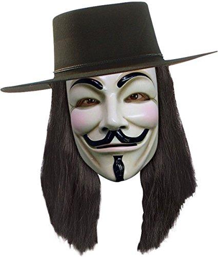 Morris Costumes Men's V For Vendetta Wig