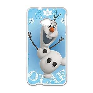 Frozen White HTC M7 case