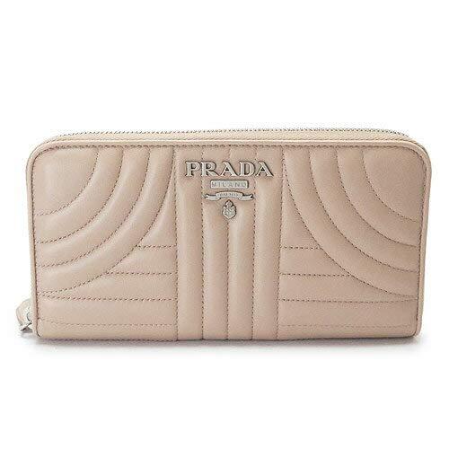 f586631f6345 Amazon | [プラダ] 長財布 レディース PRADA キルティング レザー チプリア ベージュ系 1ML506 2B0X F0236  [並行輸入品] | PRADA(プラダ) | マザーズバッグ