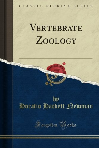 Read Online Vertebrate Zoology (Classic Reprint) PDF