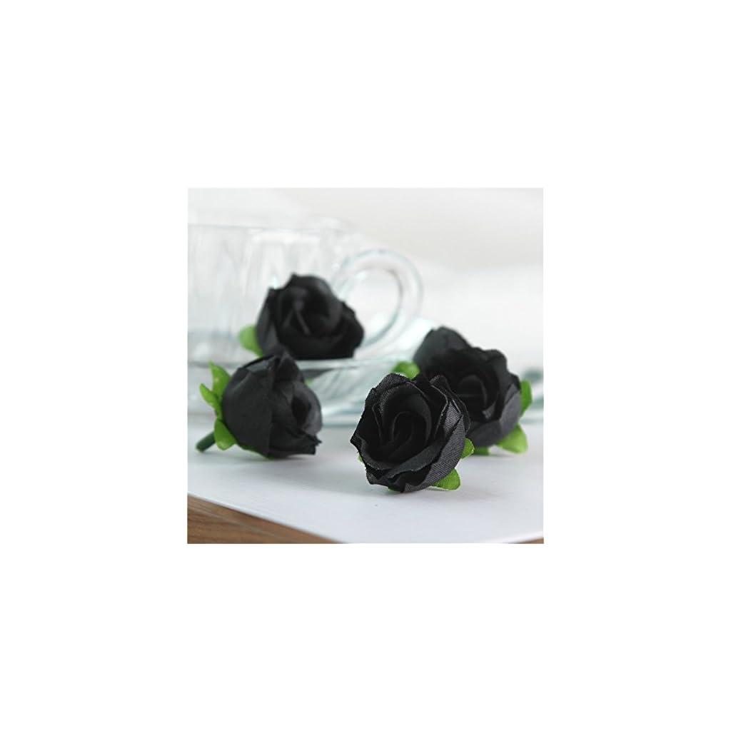 SHZONS-123-Simulation-Rose-HeadSHZONS-50pcs-Silk-Artificial-Flower-Fake-Floral-Rose-Flower-Bud-for-Bridal-Bouquet-Wreath-Headwear-Clip-DIY-Accessories