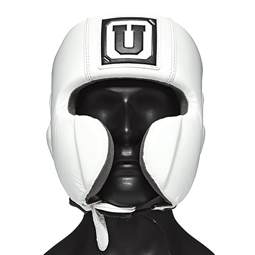 Ultimatum Boxing Gen3Mex White One-Size Professional Mexican Style Headgear