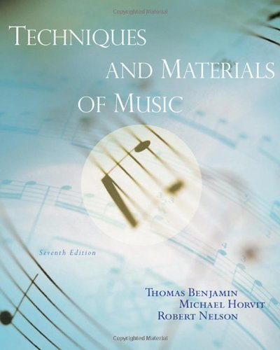 Techniques and Materials of Music: From the Common...
