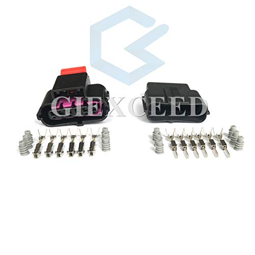 5 Sets 6 Pin 8K0973706 8K0 973 706 Gas Accelerator Throttle Pedal Waterproof Car Connector Audi VW Skoda Volvo
