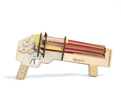 Rubber Band Rapid Fire Machine Gun Kit