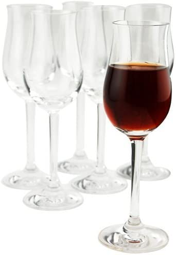 Amazon Com Stolzle Professional Collection Clear Lead Free Crystal Port Wine Glass 3 5 Oz Set Of 6 Dessert Wine Glasses Wine Glasses