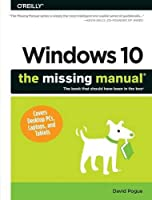 Windows 10: The Missing Manual Front Cover