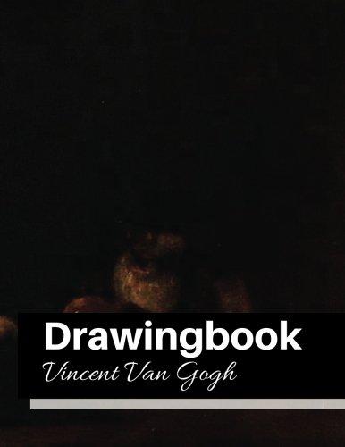 Download Drawingbook (Vincent Van Gogh) Volume 17: Drawingbook,drawing book for adults,All Black Sketchbook,van gogh notebook ebook