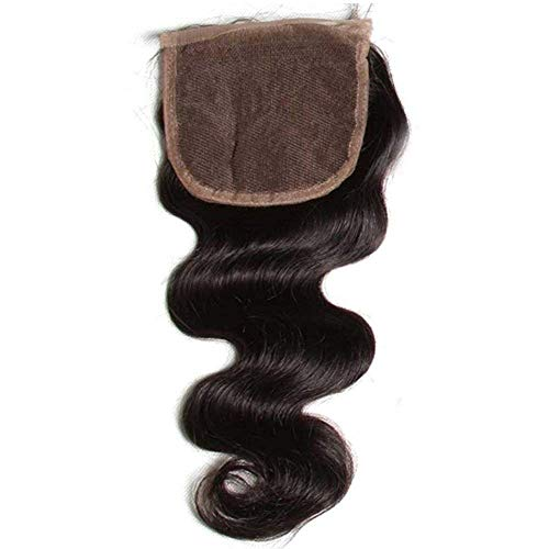 Beauty Forever Hair Brazilian Virgin Hair 1 Piece Free Part Body Wave Lace Closure 100 Unprocessed Human Hair Extensions Natural Color (16