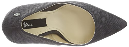 Blink BremixL - zapatos de tacón cerrados de material sintético mujer Negro - Schwarz (01 Black)