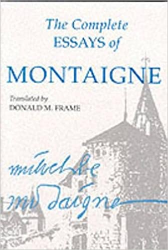 the complete essays of montaigne michel de montaigne donald m  the complete essays of montaigne michel de montaigne donald m frame 9780804704861 com books
