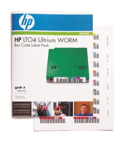 HP LT07 ULTRIUM WORM BAR CODE LAB Q2010A by HP