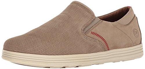 Dunham Mens Colchester Slipon Fashion Sneaker, Marrn topo, 44 D(M) EU/9.5 D(M) UK