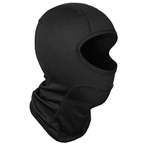 Youth Balaclava (Cortech Journey ST Youth Balaclava Winter Sport Snowmobile Helmet Accessories - Black/Black / One Size Fits Most)