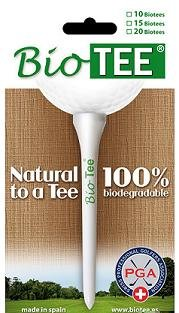 Biotee 100% Biodegradable Golf Tee (2 3/4)