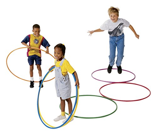 Pull-Buoy Deluxe Hoops, 36 Inches, Assorted Colors, Set of 12