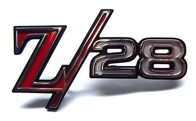 (Chevrolet Camaro Z28 Fender Emblem - GM # 394704 - Cast # 3943255)